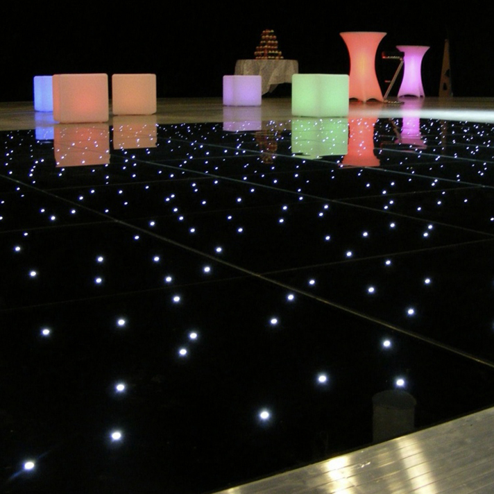 black led dance floor hire
