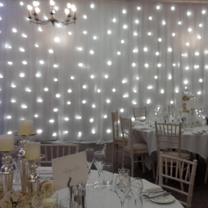 LED Backdrop hire