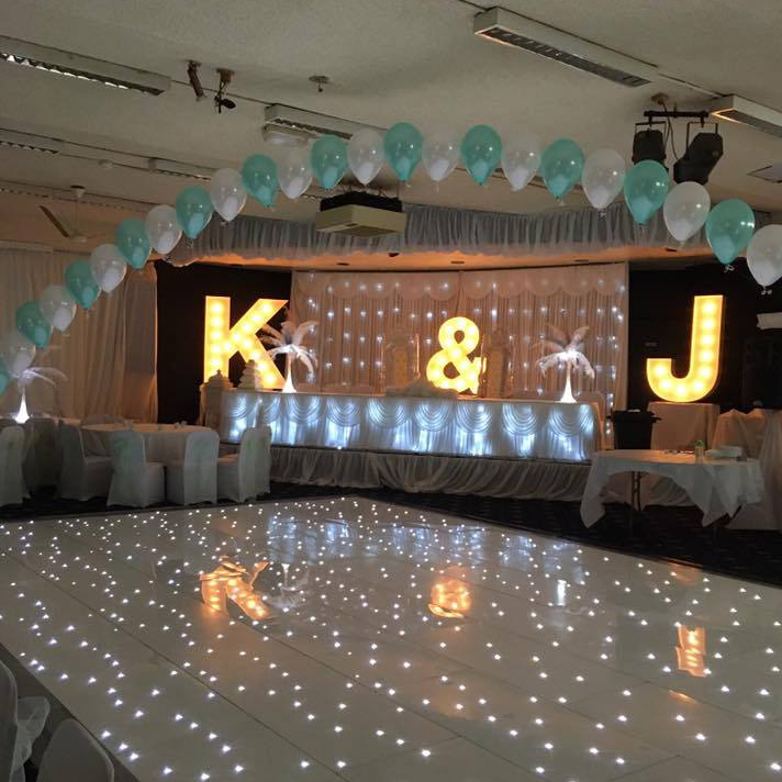 wedding dance floor hire