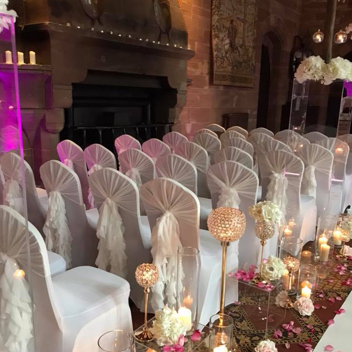 Event decor by Cheshire Celebrations